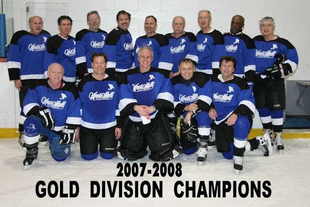 2007 - 2008 Gold Division Champions